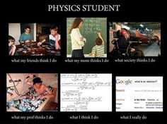 What Physics Students Do
