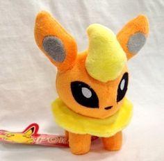 Pokemon Plush Flareon Doll