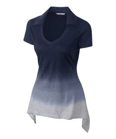 Loving this Navy Blue Flanker Trapeze Sidetail Top - Women on #zulily! #zulilyfinds