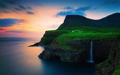 Faroe+Islands,+Gásadalur