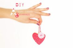 DIY Saint Valentin: Attrape-coeurs gourmands