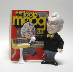Bob Moog Doll