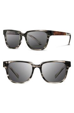 f3bfc041d2 Shwood  Prescott  52mm Acetate   Wood Sunglasses