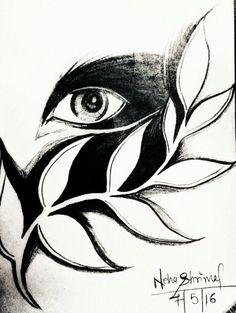 Dark eyes sketch