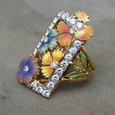 www.etsy.com/listing/254362499/masriera-of-spain-enamel-flower-diamond