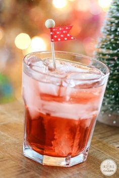 Cherry Vodka Sparkler | Inspired by Charm #IBCholiday #MyKindofHoliday