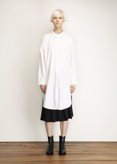 Totokaelo - Acne Studios Paper White Lash Tech Dress
