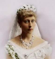 HGDH Princess Victoria of Hesse and by Rhine (1863-1950) (Marchioness of Milford-Haven), daughter of Princess Alice