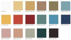 mid century colour palettes - Google Search #1960sretrohomedecor Modern Color Schemes, Modern Color Palette, Colour Schemes, Colour Palettes, Retro Home Decor, Home Decor Trends, Modern Lounge Rooms, 1960s Interior Design, Room Colors