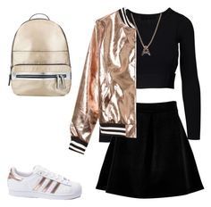 """Like a cheerleader"" by ladyanyainny on Polyvore featuring мода, Boohoo, adidas, Bony Levy, Sans Souci и Miss Selfridge"