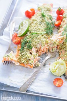Trout with Lime-Dill Crust is easy enough to prepare on a week night, but still elegant for a weekend dinner