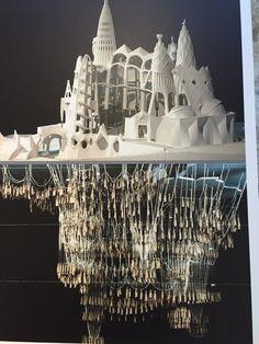 Reconstruccio del temple de la colonia Guell