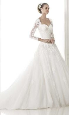 MagBridal Bridal Dresses Online,Wedding Dresses Ball Gown, stunning tulle a line sweetheart neckline natural waistline wedding dress 2015 Wedding Dresses, Formal Dresses For Weddings, Wedding Dresses Plus Size, Cheap Wedding Dress, Wedding Gowns, Tulle Wedding, Party Dresses, Bridal Dresses Online, Bridal Gowns