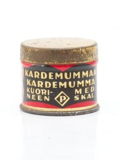 Maustepurkki, Paulig, kardemummaa Vintage Tins, Retro Vintage, Tin Cans, Tin Boxes, General Store, Canisters, Old Pictures, Ancient History, Coffee Cans