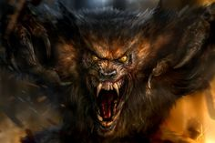 Wolf Beast – horror concept by Chris Scalf The Beast, Dark Fantasy Art, Dark Art, Fantasy Creatures, Mythical Creatures, Wolf Hybrid, Werewolf Art, Howl At The Moon, Ange Demon