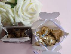 Cartoon Cute 100pcs/lot Candy Boxes Creative Bridegroom& Bride Type - Wedding Look