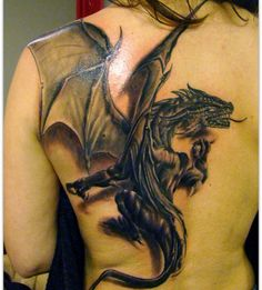 I think my mom woulda liked this.... Considering she had a dragon tattoo on her back