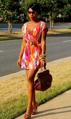 f21 dress + christian louboutin shoes