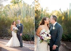 Desert Botanical Garden wedding.