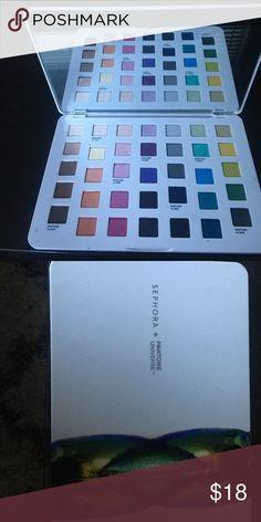 Sephora+Pantone Universe palette Shades of nature eyeshadow palette Makeup Eyeshadow