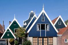 old roof designs at De Rijp (fjh)