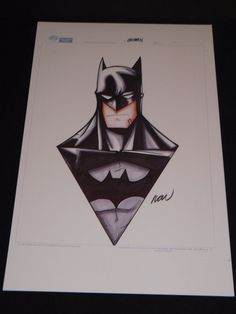 Awesome Batman drawing! Its unbelievable that someone can freehand a piece like this. The logo in the center is a little off, but the cape around his neck is simply 3D like.