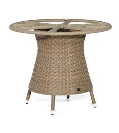 SonnenPartner BASE Polyrattan Tischgestell Rund 90 cm Stool, Furniture, Home Decor, Beach Tops, Lounge Furniture, Tables, Round Round, Lawn And Garden, Decoration Home