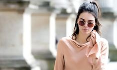 Kendall Jenner Round Sun Glasses Wallpaper - HD Wallpapers - Free Wallpapers - Desktop Backgrounds