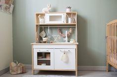 Dansmabesace - DIY - Cuisiniere ikea - chambre enfant - Ikea hack - Rose - bois - boho - bohème - www.dansmabesace.com