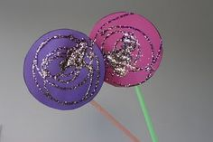 Lollipop perfect craft for toddlers