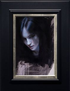 Futuristic, impressionistic oil paintings by Casey Baugh