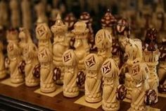 whittle chess pieces   How to Carve a Wooden Chess Set thumbnail
