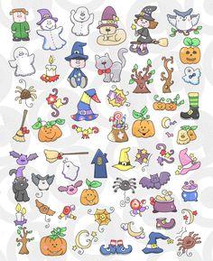 Halloween Doodle, Halloween Rocks, Halloween Painting, Halloween Crafts, Cartoon Faces Expressions, Unicorn Painting, Doodle Coloring, Simple Cartoon, Flashcard