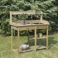 suncast potting table