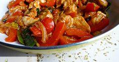 Fit  - Dietetyczna potrawka z kurczaka