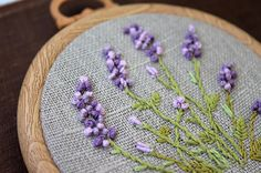 Small embroidered picture for home decor. Embroidered flowers bouquet of purple lavender . Very beautiful and bright picture. Flowers reminder of summer. Embroidered lavender Rococo and little bright green leaves. This is a beautiful decoration for your home and a great gift. Size 9,5*9,5