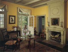 Pitot House.  Historic French colonial interior. Bayou St John, New Orleans