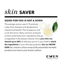 Beauty without the risk.  www.everskin.com/with/maryclaire/shop