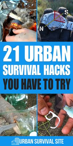 21 Urban Survival Hacks You Have To Try If you're stranded away from home in the city during a disaster and you don't have any survival gear, you'll have to make do with what you can find. Survival Life Hacks, Survival Supplies, Survival Food, Homestead Survival, Wilderness Survival, Camping Survival, Outdoor Survival, Survival Prepping, Survival Skills