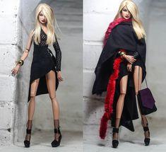 https://flic.kr/p/232muGJ | black amazon ooak outfit