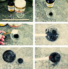 Natural and Non-Toxic Black Eyeliner   This is an eyeliner worth making.   Life Hacks every girl should know from youresopretty.com #LifeHacks #youresopretty