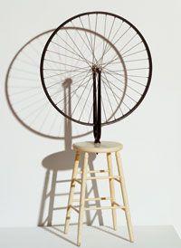 Roue de bicyclette (Bicycle Wheel), 1913/1964 by Marcel Duchamp