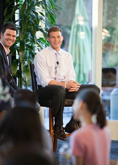 #Athlete #BlakeGriffin fields questions from #college students from across the nation.  #Undergrads were invited to participate in Nestle's annual DLS program, celebrating diversity in academia.