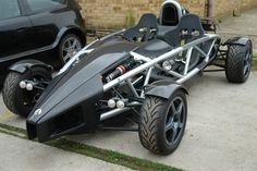 Ariel Atom -- It's like a go-cart for daredevils!