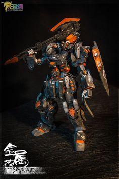 GUNDAM GUY: MG 1/100 Full Metal Armored Jesta - Diorama Build