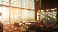 Sunny loft : thesims Sims Games, Sims Ideas, Sims 4, Sunnies, Minecraft, Loft, Future, Anime, Home Decor