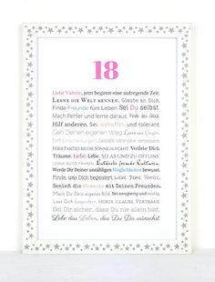 Spruche zum 18 geburtstag l