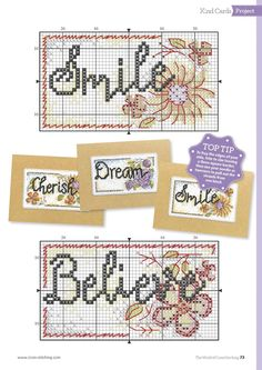 Stitch Some Happiness (Durene Jones) From The World of Cross Stitching N°243 July 2016 4 of 5