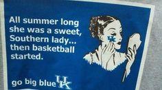 Kentucky Girls Bleed Blue!