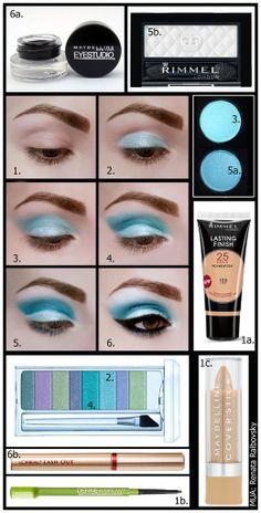 ♥~Blue Makeup~♥